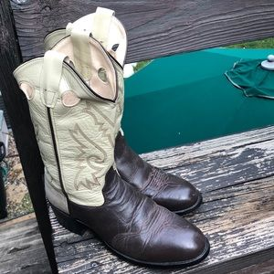 Old West cowboy boots.